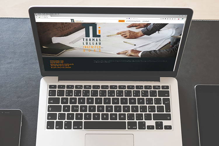Website für Ingenieurbüro Thomas Lüllau