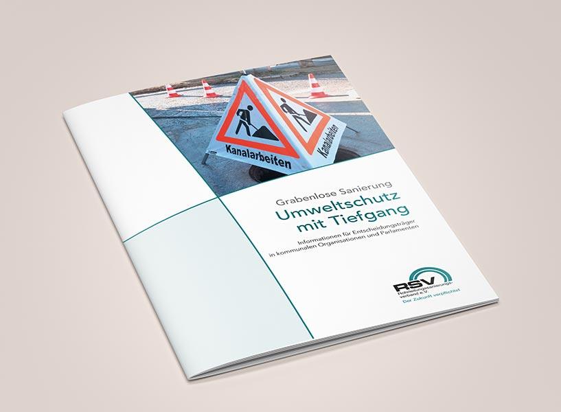 """Broschüre: """"Umweltschutz mit Tiefgang"""""""