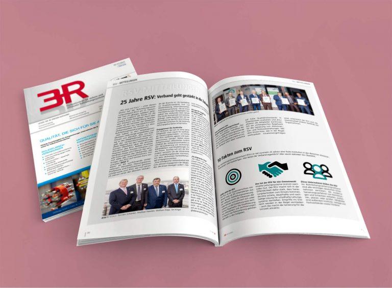 Imagetext für den RSV e.V. in der Fachzeitschrift 3R