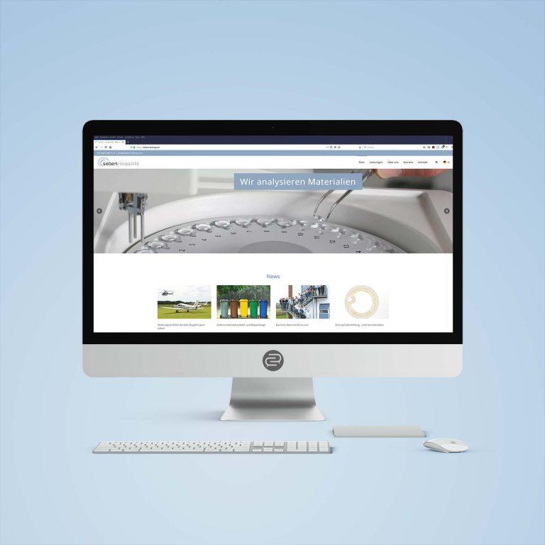 Website für Siebert + Knipschild GmbH