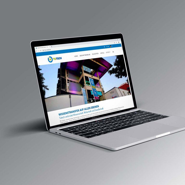 Website für die Tutech Innovation GmbH